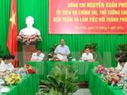 Le PM demande à Can Tho de parachever son plan de développement