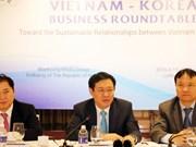 Le vice-PM Vuong Dinh Hue plaide pour une coopération  d'affaires Vietnam-R. de Corée