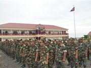 Cambodge : inauguration d'ouvrages militaires financés par le Vietnam