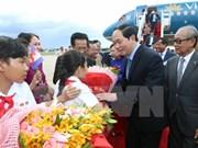 Le président du Vietnam en visite d'Etat au Cambodge