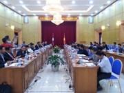 Colloque des ministères vietnamien et laotien du Plan et de l'Investissement
