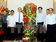 Le président du FPV présente ses vœux aux journalistes du Portail du gouvernement
