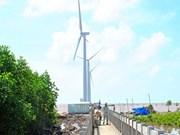Coopération pour le développement de l'électricité éolienne au Vietnam