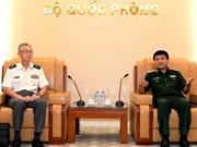 Une délégation de la force d'autodéfense japonaise en visite au Vietnam