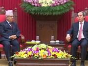Le PCV veut dynamiser ses liens avec les communistes népalais