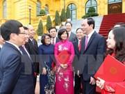 Le président Trân Dai Quang nomme 20 nouveaux ambassadeurs