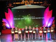 Les meilleures entreprises de tourisme du Vietnam en 2016 à l'honneur