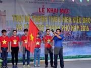Ouverture du camp d'été de Ho Chi Minh-Ville 2016