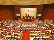 Ouverture de la première session de l'Assemblée nationale