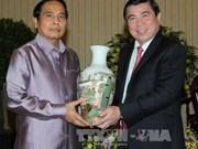 Une délégation de l'Inspection laotienne en visite à Ho Chi Minh-Ville