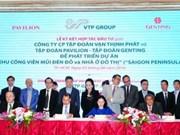 Près de 6 milliards de dollars pour Saigon Peninsula à Hô Chi Minh-Ville