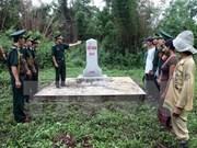 Résultats notables dans la densification des bornes frontalières Vietnam-Laos