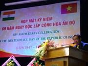 La Journée de l'Indépendance de l'Inde fêtée à Hô Chi Minh-Ville