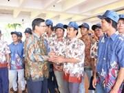 L'Indonésie autorise le rapatriement de 49 pêcheurs vietnamiens