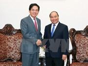 Le Premier ministre reçoit l'ambassadeur de Chine
