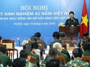 Le Vietnam participe activement à des opérations de maintien de la paix de l'ONU