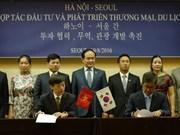 Une délégation des autorités municipales de Hanoi à Séoul