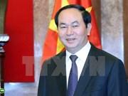 Le président Tran Dai Quang part pour le Brunei