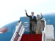 Le président Tran Dai Quang quitte Brunei pour Singapour