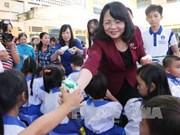 Poursuite des activités caritatives au profit des enfants démunis