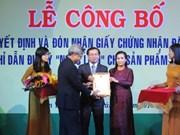 Kon Tum : certificat d'indication géographique pour le ginseng de Ngoc Linh