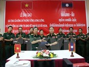 Le Vietnam soutient l'Armée populaire du Laos dans sa modernisation