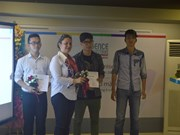 L'AUF récompense de jeunes talents francophones à Hanoï