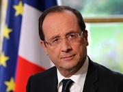 Le président français François Hollande entame sa visite d'État au Vietnam