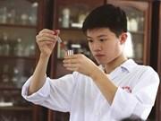 Un jeune chimiste prometteur