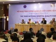 Renforcement de la gestion de la qualité des hôpitaux