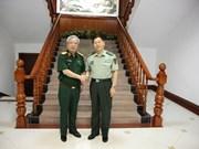 Promotion des échanges entre les forces de défense frontalière Vietnam-Chine