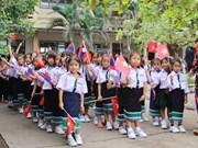 C'est aussi la rentrée à l'école bilingue vietnamien-laotien Nguyên Du