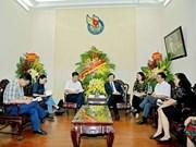 Visite de travail de journalistes vietnamiens en Chine