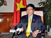 Activités du vice-Premier ministre et ministre des AE Pham Binh Minh à New York