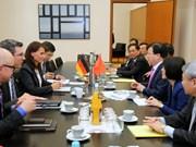 Vietnam et Allemagne dynamisent leur partenariat stratégique
