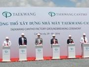 Le groupe sud-coréen Taekwang construit une usine de chaussures à Cân Tho