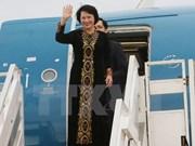 Nguyên Thi Kim Ngân termine sa tournée au Laos, au Cambodge et au Myanmar