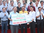 Mise en chantier de l'usine de traitement des déchets Greenity Hau Giang