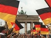 Célébration du 26e anniversaire de la réunification allemande