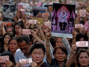 Les activités de l'Etat thaïlandais se dérouleront normalement après le décès du roi
