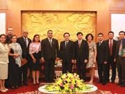 Les jeunes se donnent la main pour renforcer les relations entre le Vietnam et Cuba