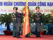 Commémoration de la 70e Journée traditionnelle des forces armées de Hanoï
