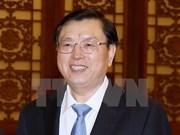 Le président du Comité permanent de l'Assemblée populaire nationale chinoise visitera le Vietnam