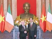 Belles perspectives pour les relations Vietnam-Irlande