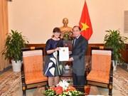 Le Vietnam reconnaît la consule générale de Belgique à Hanoi