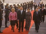 Le président Tran Dai Quang au Pérou pour assister au Sommet de l'APEC 2016