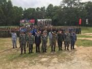 La Chine et la Malaisie effectuent un exercice d'assistance humanitaire