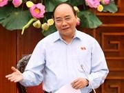 Le PM vietnamien part pour le 9e Sommet CLV au Cambodge