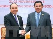 Le PM vietnamien s'entretient avec son homologue cambodgien