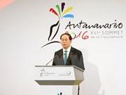 Sommet de la Francophonie: le président rencontre des dirigeants étrangers